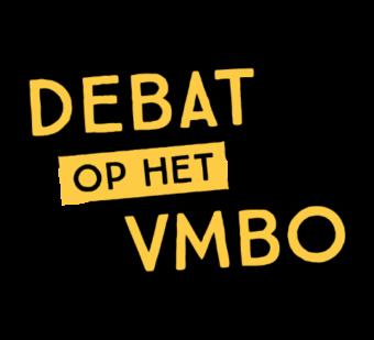 Debat op het vmbo - logo