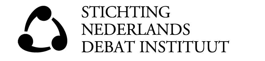 Logo Stichting Nederlands Debat Instituut 863x200